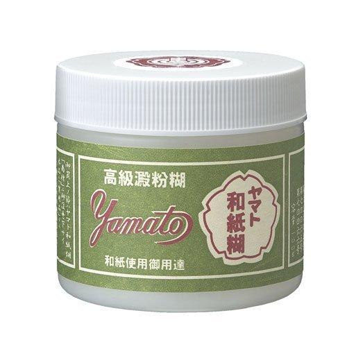 Yamato starch paste Japanese セール価格 オンラインショップ paper 100 g W-100 でんぷんのり 100g W-100 単価336円 送料無料 ヤマト和紙糊 ヤマト 150セット