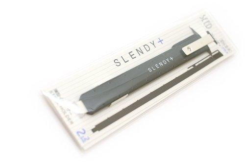 【送料無料・単価324円・50セット】シード 薄型ホルダー消しゴム EH-S-K スレンディプラス ブラック(50セット)