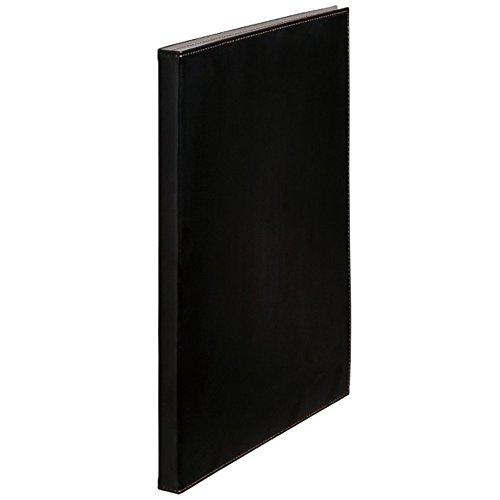 キングジム クリアーファイル 合皮 40ポケット 黒 1931LFWクロ(10セット)