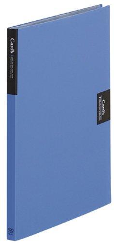 【送料無料・単価1293円・10セット】キングジム カードホルダー カーズ 溶着式 A4S 47 青(10セット)