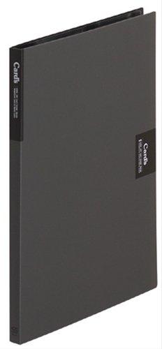 【送料無料・単価1293円・10セット】キングジム カードホルダー カーズ 溶着式 A4S 47 黒(10セット)