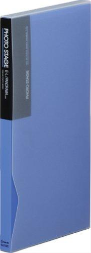 【送料無料・単価1190円・10セット】キングジム フォトステージ クロスインタイプ青 2132Cアオ(10セット)