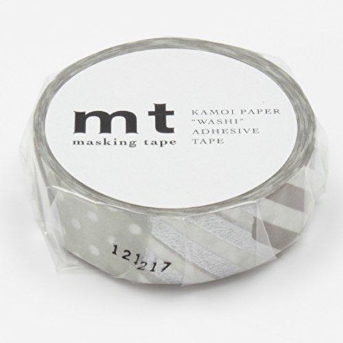 【単価117円・130セット】カモ井加工紙 マスキングテープ1PツギハギG MT01D149(130セット)