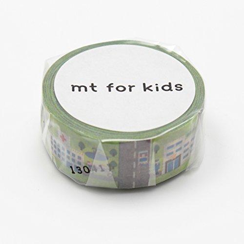 【送料無料・単価107円・470セット】カモ井加工紙 MTKIDS WORK 町 MT01KID018(470セット)