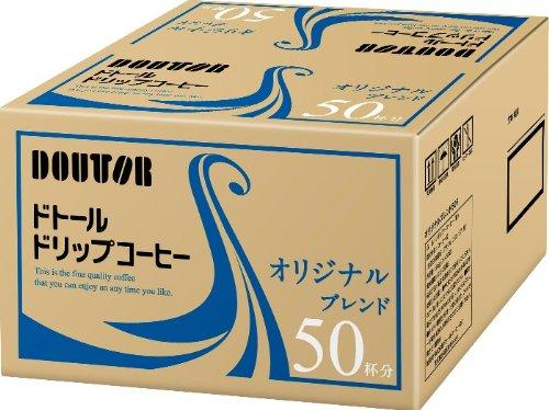 ドトールコーヒー ドリップコーヒー オリジナル 7GX50フ黒 4932707047483(5セット)