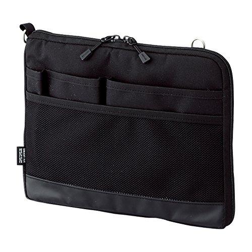 リヒトラブ バッグインバッグ スマートフィット アクタクト A5ヨコ ブラック A7680-24(10セット)