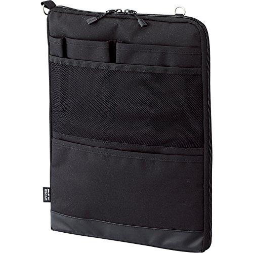 リヒトラブ バッグインバッグ スマートフィット アクタクト A4タテ ブラック A7683-24(10セット)