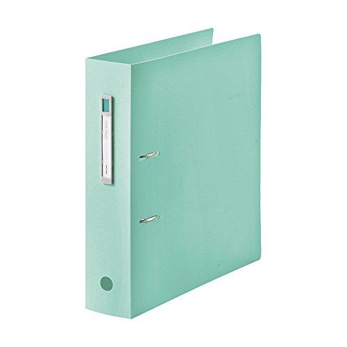 Lihit Lab AZ file noie-style A4S 2 hole light green F7687-19 A4S ライトグリーン 送料無料 100セット 単価504円 2穴 AZファイル noie-style F7687-19 リヒトラブ 激安卸販売新品