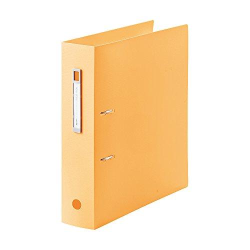 Lihit Lab AZ file noie-style A4S 結婚祝い 2 hole orange F7687-4 AZファイル 単価504円 F7687-4 おすすめ 送料無料 オレンジ noie-style 2穴 100セット リヒトラブ A4S