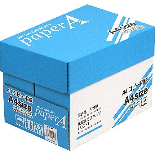 アピカ ペーパーA A4コピー用紙 PA-A4(5セット)