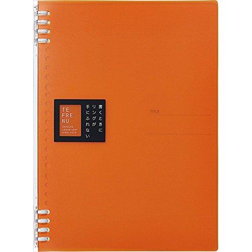 King Jim ring not 豊富な品 Tehran B5 Orange 9855 TTE 送料無料 150セット テフレーヌ 9855TTE 高品質 キングジム オレンジ 単価336円 リングノート B5