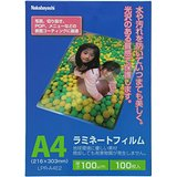ナカバヤシ ラミネートフィルム 100枚入 216×303mm A4 LPR-A4E2(10セット)