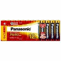 【送料無料・単価942円・20セット】パナソニック 単4形アルカリ乾電池 12本パック LR03XJ/12SW(20セット)