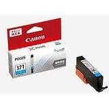 Canon キヤノン 純正 インクカートリッジ BCI-371 シアン BCI-371C(10セット)
