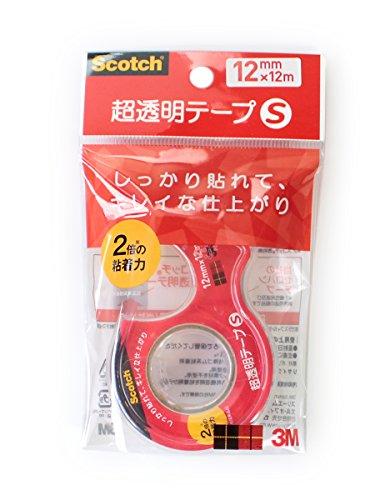 3M Scotch 高品質新品 Whiskey R super transparence tape S wick diameter スリーエム CC1212-D-N CC1212-D-N 00498869 送料無料 530セット 25mm スコッチR超透明テープS巻芯径25mm 日本メーカー新品 単価96円