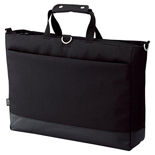 リヒトラブ キャリングバッグ スマートフィット アクタクト ヨコ型Lサイズ ブラック A7671-24(5セット)