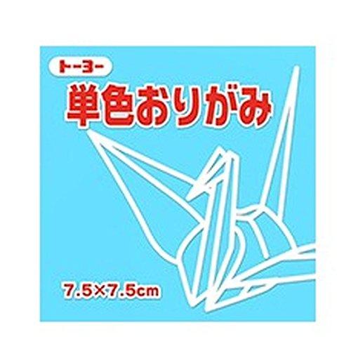 Toyo single color 再販ご予約限定送料無料 origami 業界No.1 7.5cm I do not lightly see 単価84円 うすみず 送料無料 cm 7.5 単色折紙 600セット トーヨー 068134 it