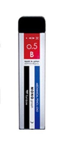 卓越 Dragonfly pencils sharp core monograph MG0.5B things R5-MGB01 マート シャープ芯モノグラフMG0.5Bモノ 00026749 送料無料 360セット トンボ鉛筆 単価140円 R5-MGB01