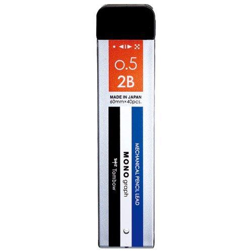 Tombow Pencil 激安セール sharp 受賞店 core monograph MG0.52B monoR5-MG2B01 R5-MG2B01 360セット 単価140円 送料無料 シャープ芯モノグラフMG0.52Bモノ トンボ鉛筆 00026751