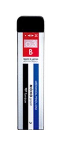 Tombow Pencil sharp core monograph MG0.3B monoR3-MGB01 トンボ鉛筆 売却 00026747 海外限定 シャープ芯モノグラフMG0.3Bモノ 送料無料 360セット 単価140円 R3-MGB01