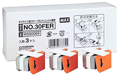マックス 自動ホッチキス ステープルフィニッシャ EPH-301N専用針 No.30FER(5セット)