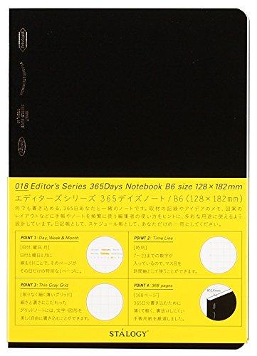 ニトムズ ノート STALOGY 365Days Notebook B6 S4104(10セット)
