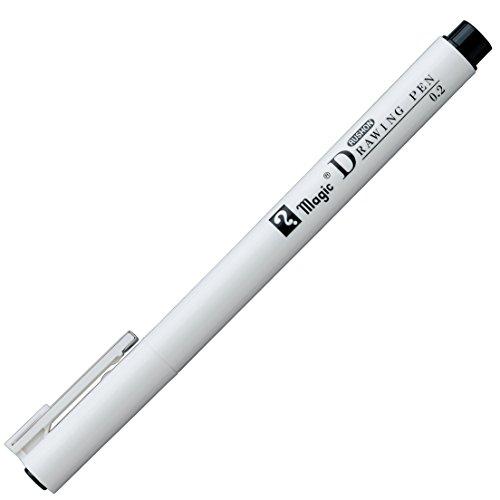(人気激安) マジックラッションドローイングペン 0.2P 高級な MRDP-02-T1 送料無料 単価108円 140セット マジック ラッションドローイングペン0.2P