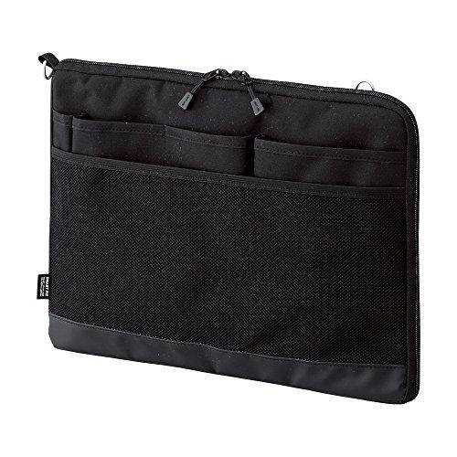 リヒトラブ バッグインバッグ スマートフィット アクタクト A4ヨコ ブラック A7681-24(10セット)