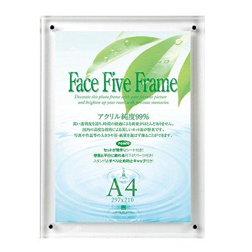 APJ フェイスファイブフレーム A4 クリア 0030736695(10セット)