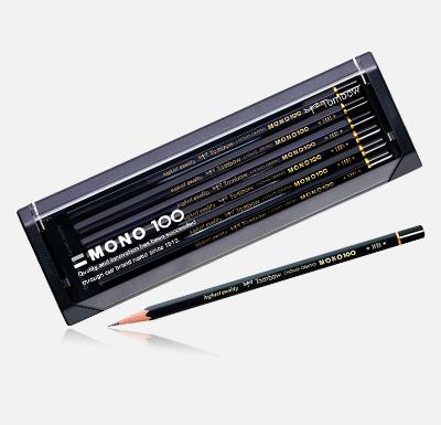 【送料無料・単価1282円・20セット】トンボ鉛筆 鉛筆 モノ100 B MONO-100B 1ダース(20セット)