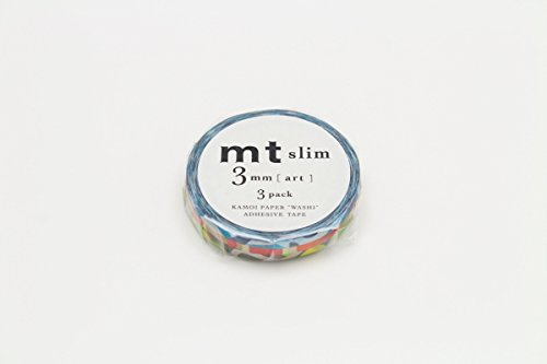 【送料無料・単価195円・80セット】カモ井加工紙 MT SLIM 3MM アート MTSLIMS10(80セット)