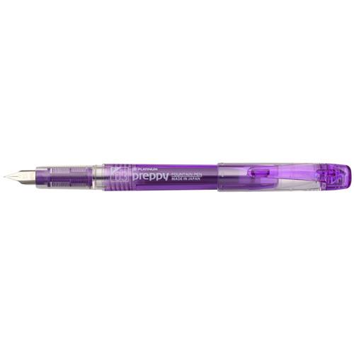 最安値に挑戦 Platinum Pen pre-P fountain pen small characters violet PSQ-300#28-2 プラチナ万年筆 送料無料 細字 PSQ-300#28-2 単価210円 バイオレット 格安 240セット プレピー万年筆