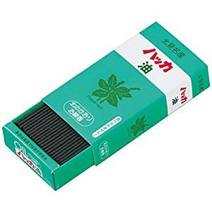 【単価529円・30セット】カメヤマローソク 北のかおりハッカ油 ミニ寸線香 約50g I2350-00-60(30セット)