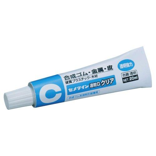 今ダケ送料無料 Glue drying G clear 20 ML CA-163 4901761100984 送料無料 速乾G クリア 35%OFF 単価140円 360セット 20ml セメダイン CA-163 ゴム用接着剤