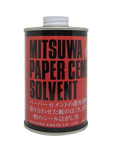 ミツワ ソルベント(溶解液)赤丸缶 280ml(10セット)