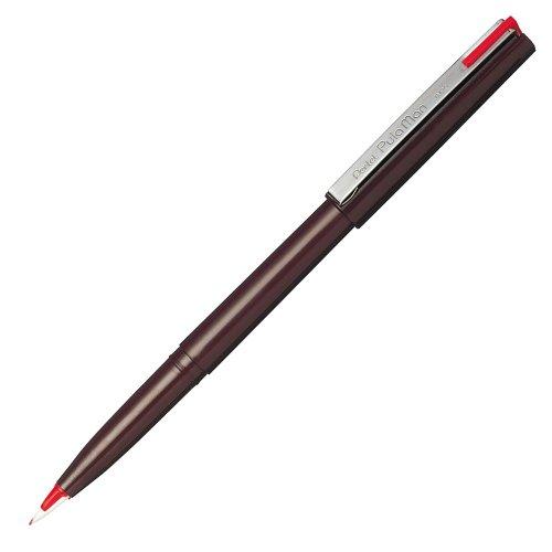 Pentel's plastic fountain pen red 売却 JM20-BD 4902506350428 単価140円 送料無料 プラマン 赤インキ 使いきり万年筆 ぺんてる 360セット お見舞い