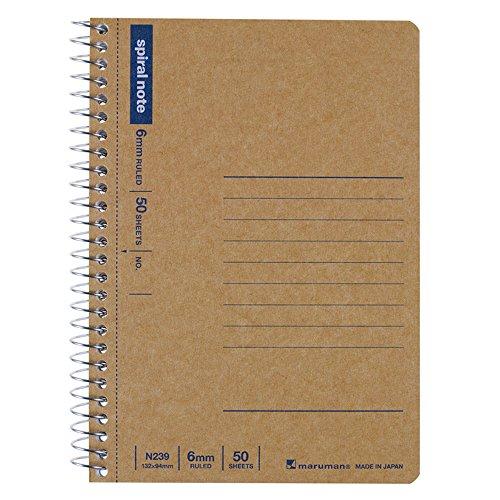 Maruman A6 4年保証 transformation notebook craft cover new basic 値引き N239 N239 送料無料 マルマン A6変形 クラフト表紙 単価105円 480セット ニューベーシック ノート