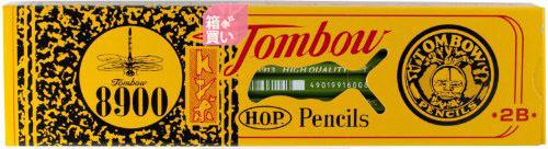 【箱買い商品 / 一箱240セット】トンボ 鉛筆事務筆記用 89002B (納期優先の為単品詰合せの場合が御座います)