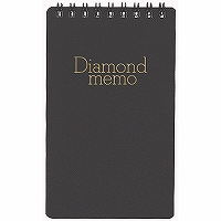 Green diamond memo 大幅にプライスダウン L black 4902805007535 単価105円 ダイヤメモLクロ 480セット 送料無料 ミドリ 誕生日プレゼント