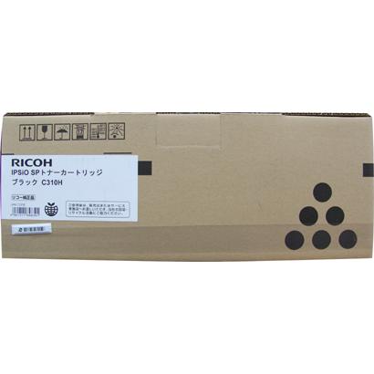 リコー RICOH 308500 [IPSiO SP トナーカートリッジ ブラック C310H]