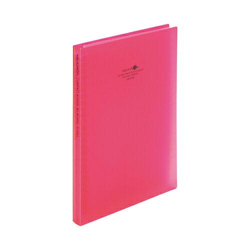 Lihit Lab 店 compact 低廉 binder B5 length 26 hole red N5024-3 B5タテ 26穴 赤 N5024-3 送料無料 150セット コンパクトバインダー 単価336円 リヒトラブ