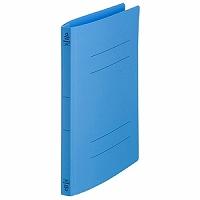 【送料無料・単価175円・300セット】キングジム フラットファイルクイックイン A4 4432 青(300セット)