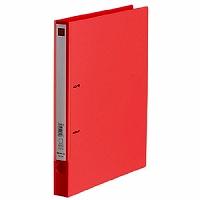 【送料無料・単価276円・200セット】キングジム Dリングファイル エコノミータイプ 691 A4S 赤(200セット)