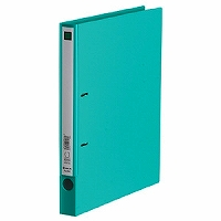 【送料無料・単価276円・200セット】キングジム Dリングファイル エコノミータイプ 緑 A4S 691ミト(200セット)
