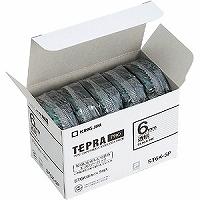 【箱買い商品 / 一箱24セット】キングジム KING JIM テープカートリッジ エ個パック トウ ST6K-5P (納期優先の為単品詰合せの場合が御座います)