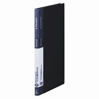 【送料無料・単価236円・250セット】キングジム クリアーファイル シンプリーズクリアーファイル20P 黒 A4縦型 136SPクロ(250セット)