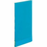 【送料無料・単価95円・480セット】キングジム クリアーファイル シンプリーズ(透明)10P A4 186TSPH 青(480セット)