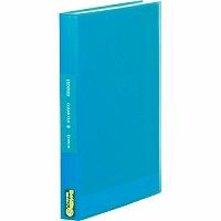 【箱買い商品 / 一箱120セット】キング クリアーファイルSPA4タテ 186-3TSPアオ (納期優先の為単品詰合せの場合が御座います)