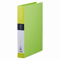 【送料無料・単価209円・250セット】キングジム リングファイル シンプリーズ 黄緑 A4 642SPキミ(250セット)