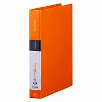 【送料無料・単価209円・250セット】キングジム リングファイル シンプリーズ オレンジ A4 642SPオレ(250セット)